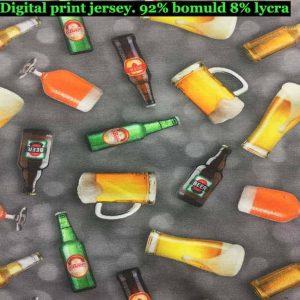 Jersey print med forskellige øl