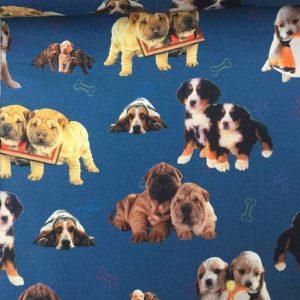 Jersey print med hunde