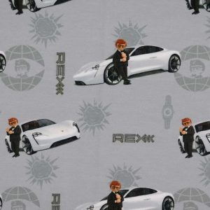 Jersey print med playmobil