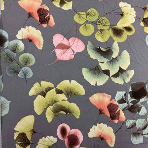Viscose med blomster