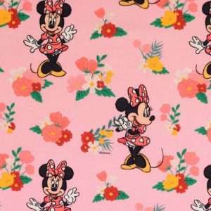 Jersey print med Minnie Mouse