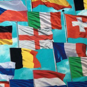 Jersey print med flag