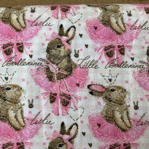 Jersey print med kaniner