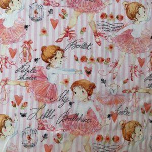 Jersey print med ballerina