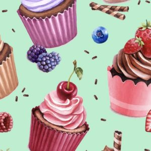 Cupcakes - mint