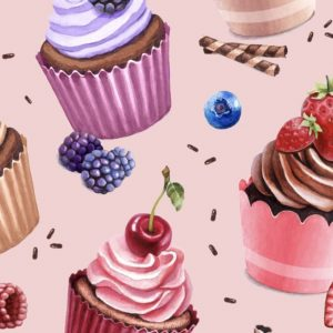 Cupcakes - rose
