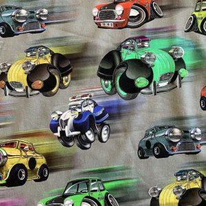 Jersey print med biler