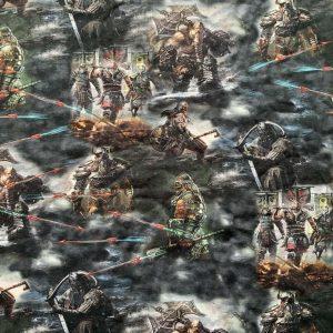 Jersey print med vikinge tema