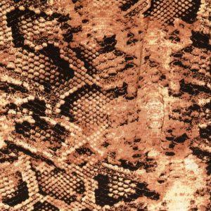 Viscose med slange mønster