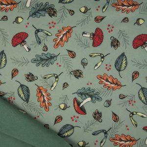 Softshell med efterår khaki