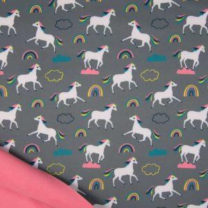 Softshell med heste grå